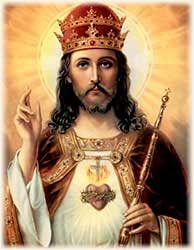 Christ the King of the Universe.  Is it bad that I told our students that is is not Obama?