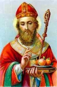St. Nicholas, defender of the Faith.