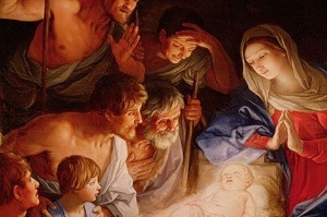 The true joy, wonder, and awe comes into the world to save us.  That is Christmas!
