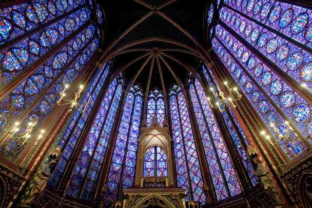 If you ever find yourself in Paris be sure to visit Sainte Chapelle.  It is worth the wait in line, and personally, I thought it to be more beautiful than Notre Dame.