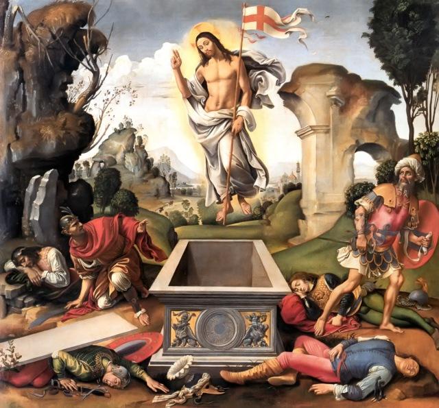Resurrection by Raffaelino del Garbo, 1510