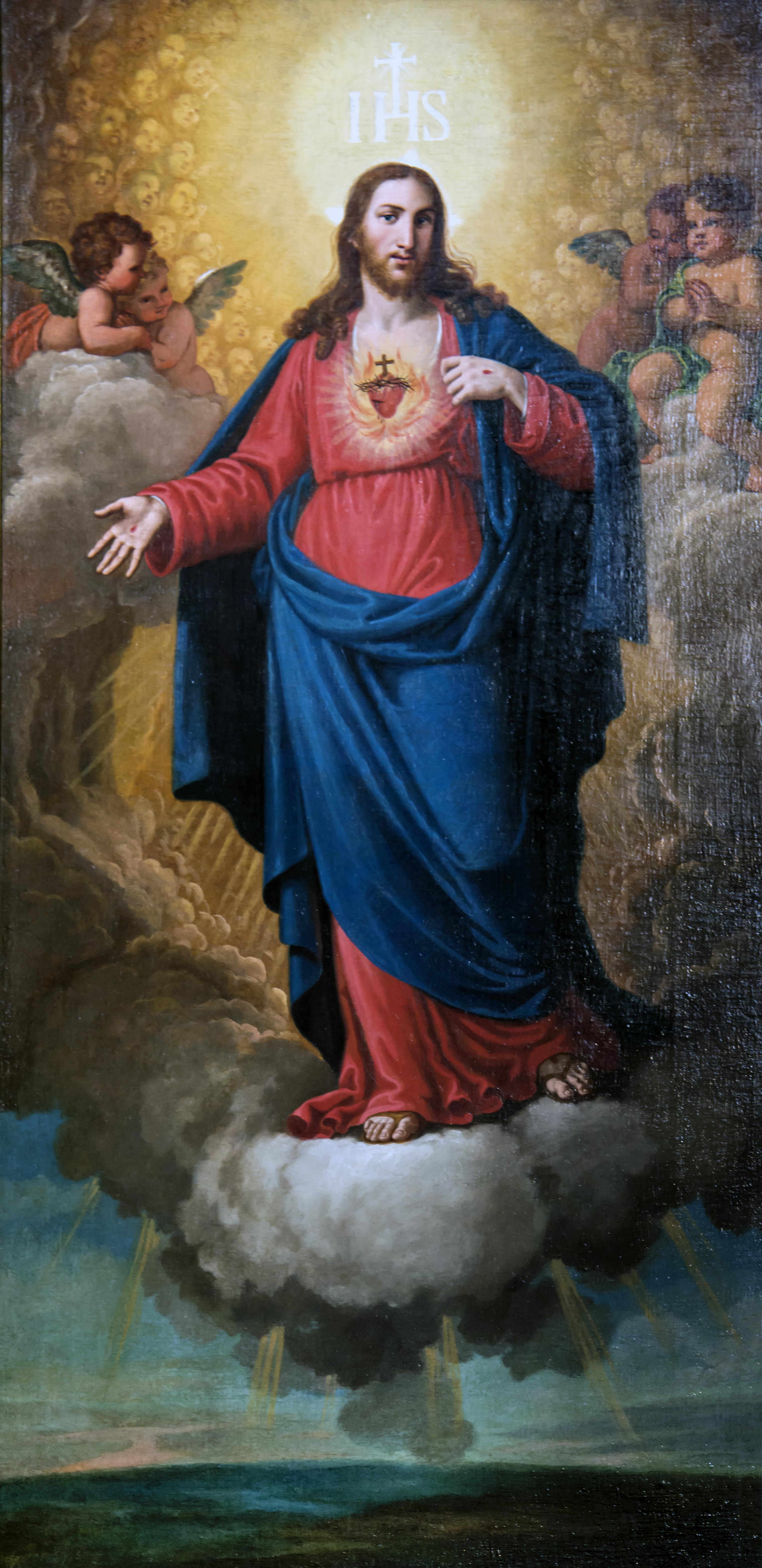 Chiesa del Nome di Gesù - Venice - Il Sacro Cuore by Lattanzio Querena